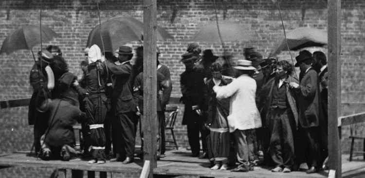 Execution of the Lincoln conspirators, 1865 5