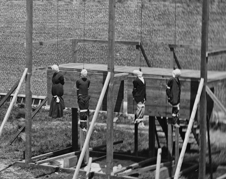 Execution of the Lincoln conspirators, 1865 7