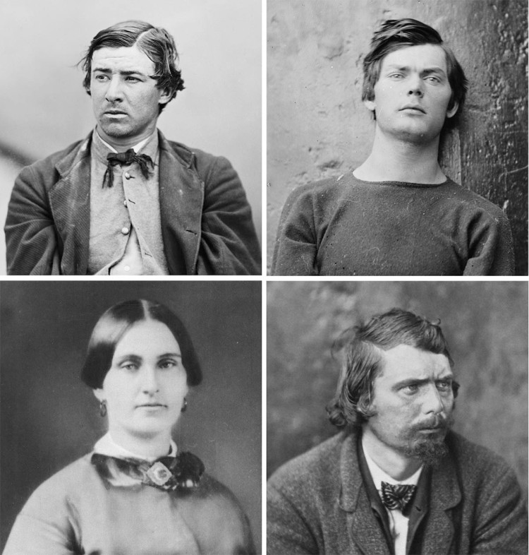 Execution of the Lincoln conspirators, 1865 pics