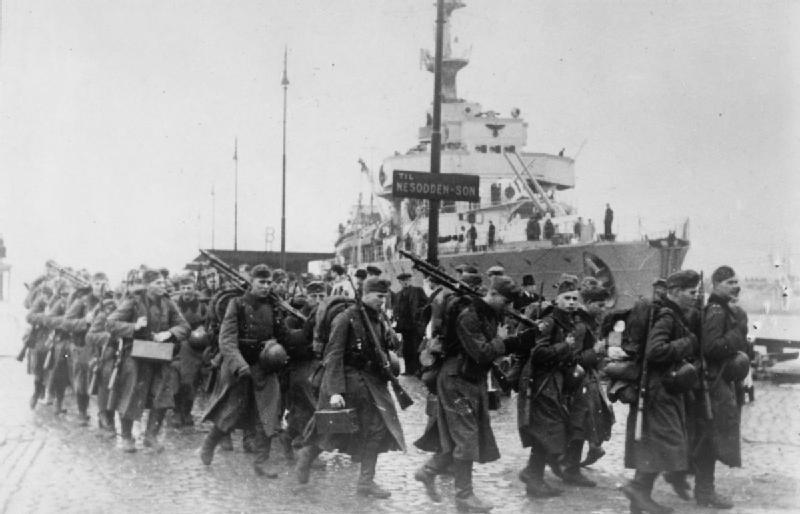 The_German_Invasion_of_Norway,_1940_HU55638