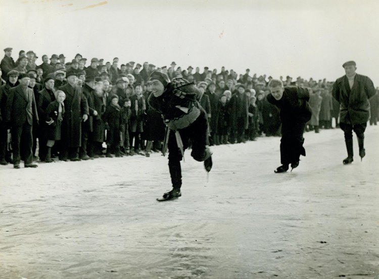A sports challenge during WWII