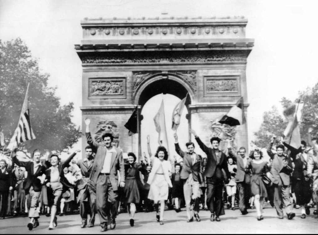 FRANCE END OF WWII