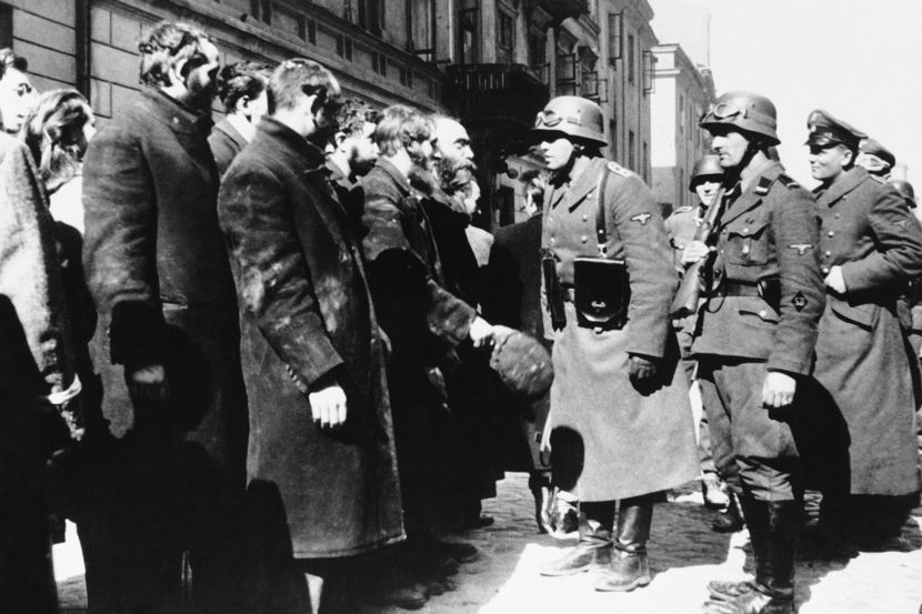 WWII Warsaw Ghetto 1943