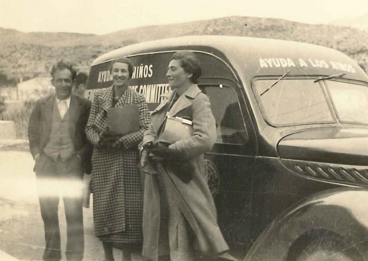 Mary Elmes -Spain 1938-Dorothy Morris and Juan