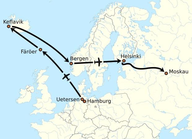 Mathias_Rust_flight_route