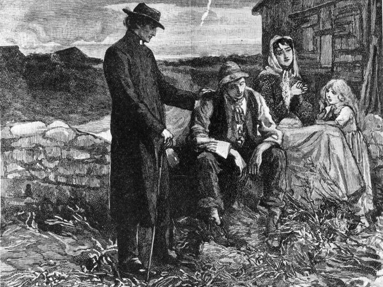 Irish-famine
