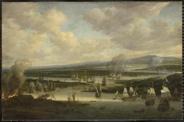 The-burning-of-the-English-fleet-near-Chatham-June-1667-during-the-second-Anglo-Dutch-war