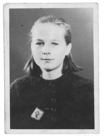 Young_Girl_Polish_Forced_Labourer_Wearing_Letter_-P-_Patch