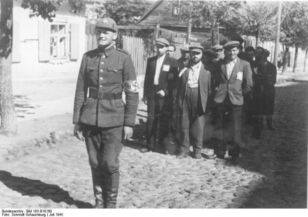 Wilna, Juden, litauischer Polizist