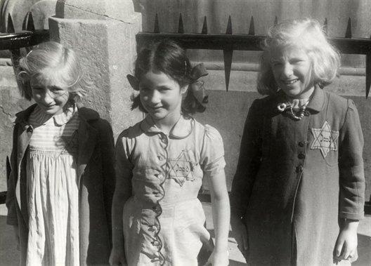 Kinderen met Jodenster
