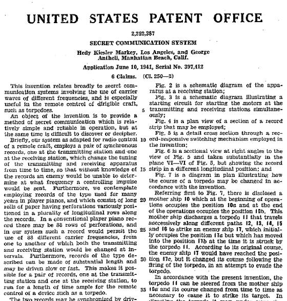 Lamarr_patent