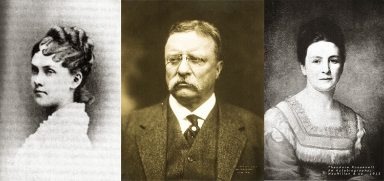 Theodore Roosevelt's diary the day his wife and mother died, 1884 1