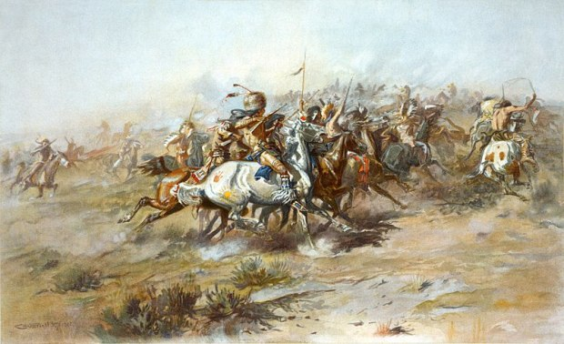 800px-Charles_Marion_Russell_-_The_Custer_Fight_(1903)