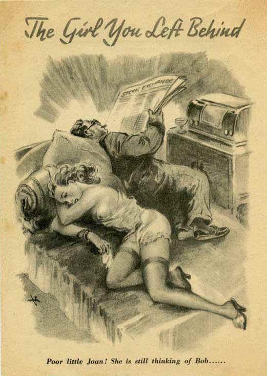 Sexual health leaflets in ww2