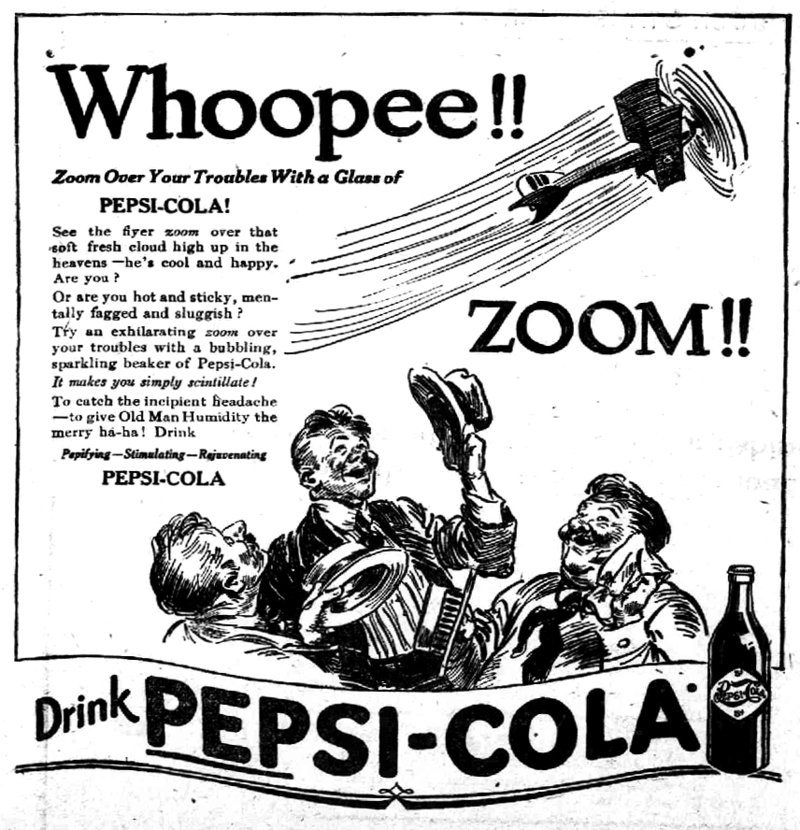 This Blog Is Not Sponsored By Pepsi Cola History Of Sorts