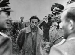 Nazi Officers Interrogating Yakov Stalin