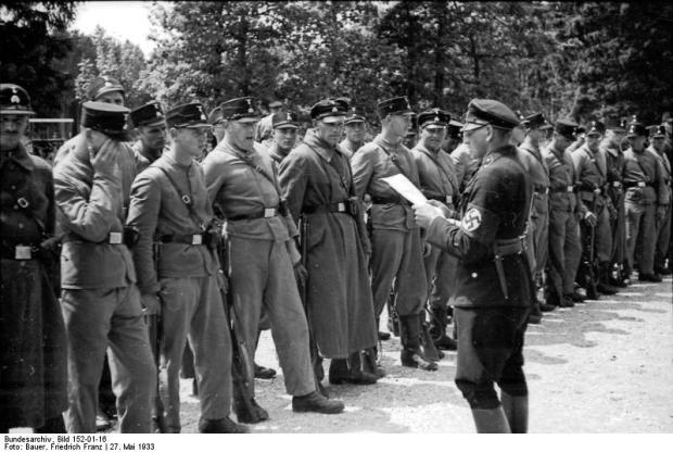 KZ Dachau, SS-Wachmannschaft