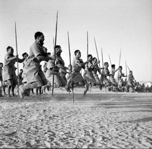 Maori Battalion haka in Egypt, 1941 (3)