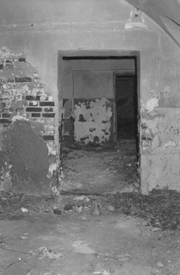 Tver Execution room of Polish soldiers buried later at Mednoye- Photograph Katyn Museum
