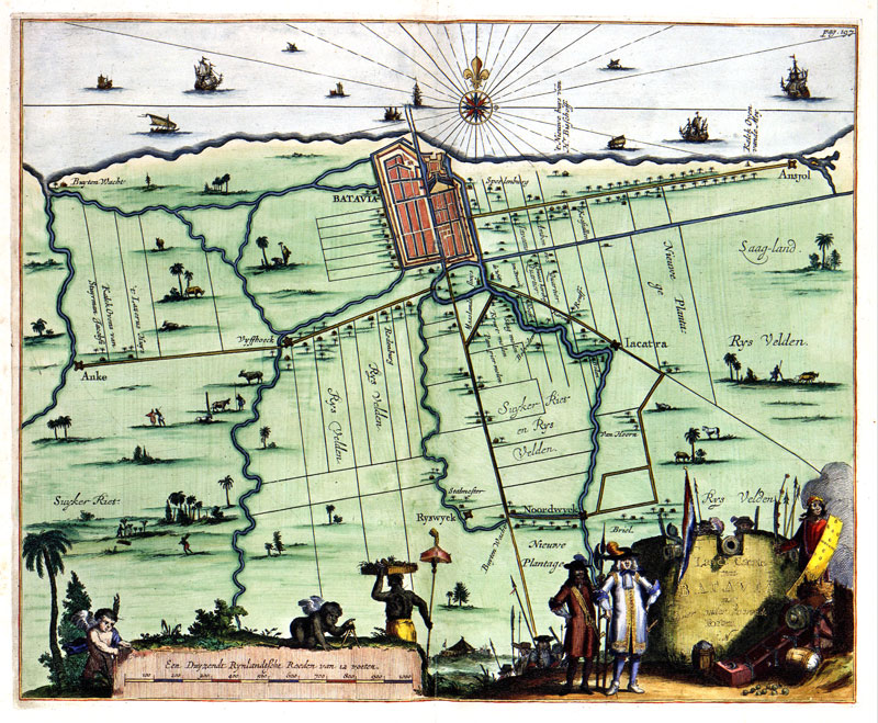 BATAVIA-and-her-Forts-1682