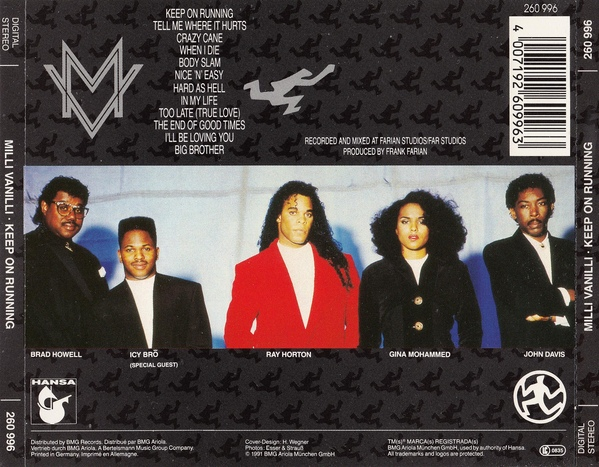 The Real Milli Vanilli - The Moment Of Truth_Back