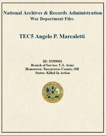 Angelo P Marcaletti