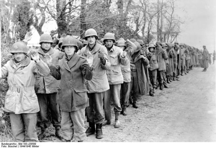 Kriegsgefangene amerikanische Soldaten