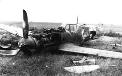 Messerschmitt-Bf-109-WWII-Nazi-Fighter-Crash