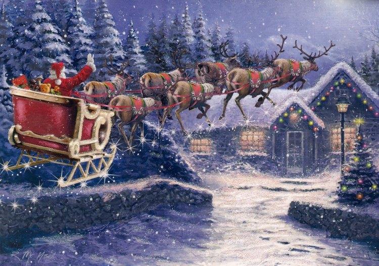 Santa's Sleigh House