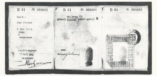 PasportClaudeMurrayAKAjanSmit1944