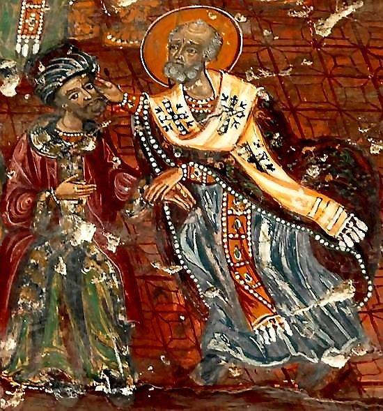 Saint-Nicholas-Slaps-the-Heretic-Arius