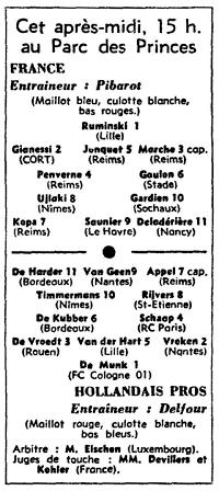Watersnoodwedstrijd_Aufstellung_L'Equipe_1953-03-13-2