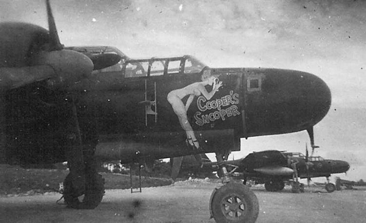 P-61_Nightfighter_nose_art_COOPERS_SNOOPER