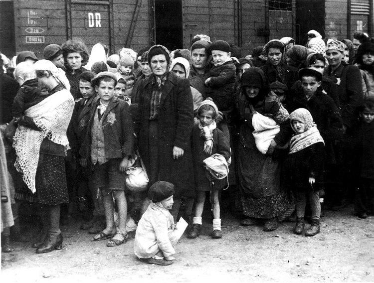 1024px-Bundesarchiv_Bild_183-N0827-318,_KZ_Auschwitz,_Ankunft_ungarischer_Juden