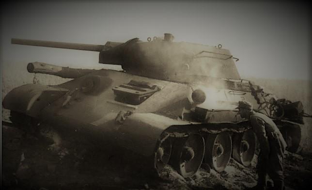 damaged t 34
