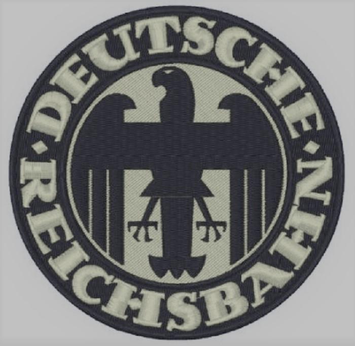 WW2 WWII German Germany Deutsche Reichsbahn Railways Railroad Train Bar Plaque