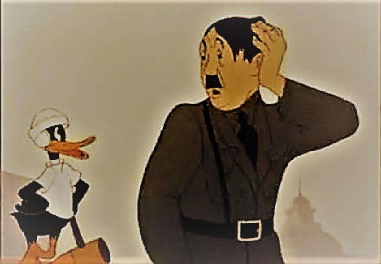 Daffy the Commando-Looney Tunes WW2 Propaganda  | History of