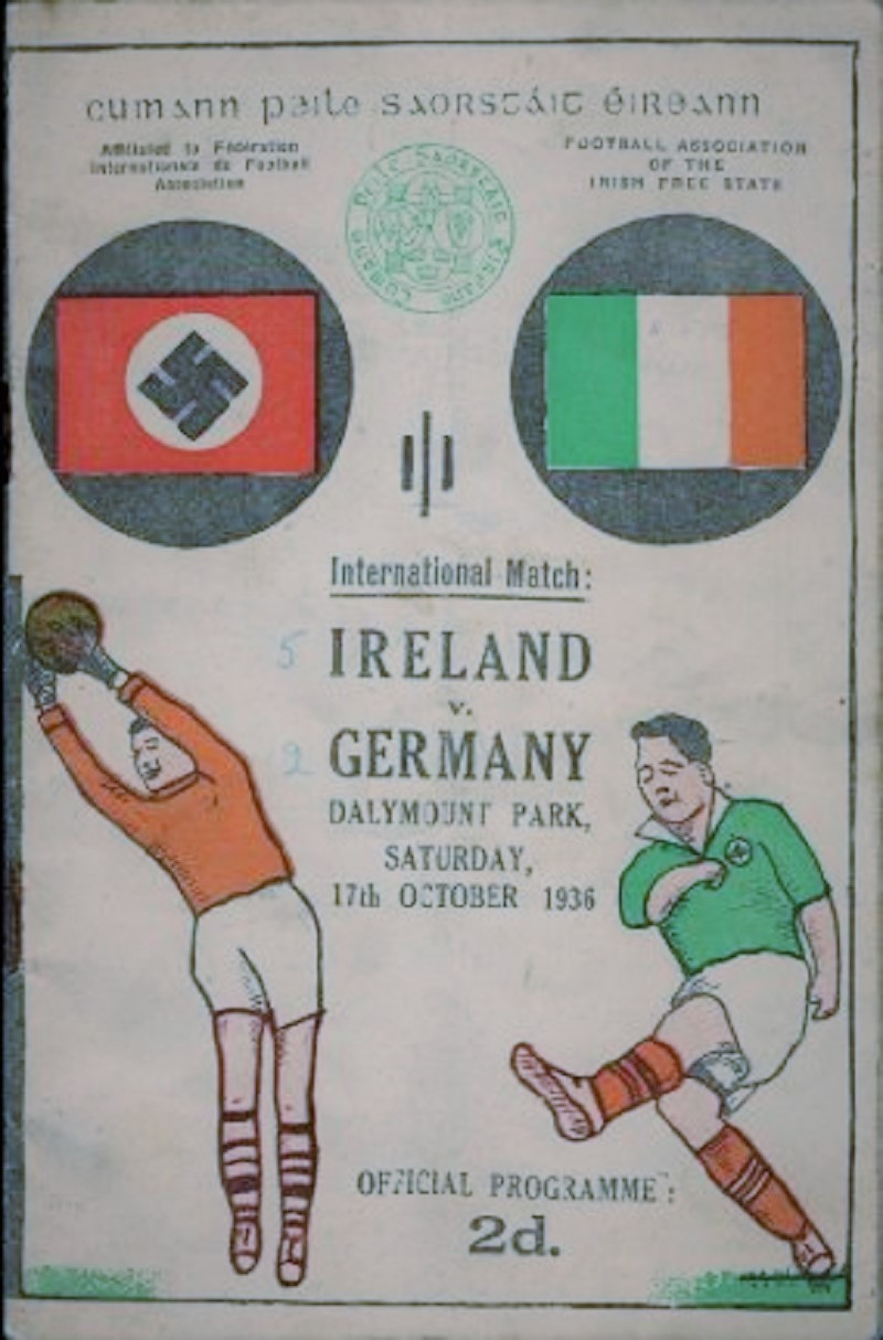 Eire V Germany 1936