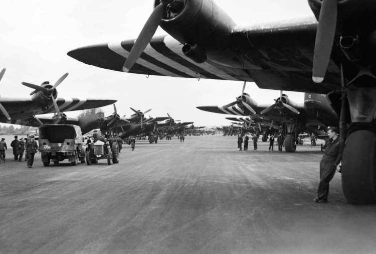 Operation-Tonga-planes-ready