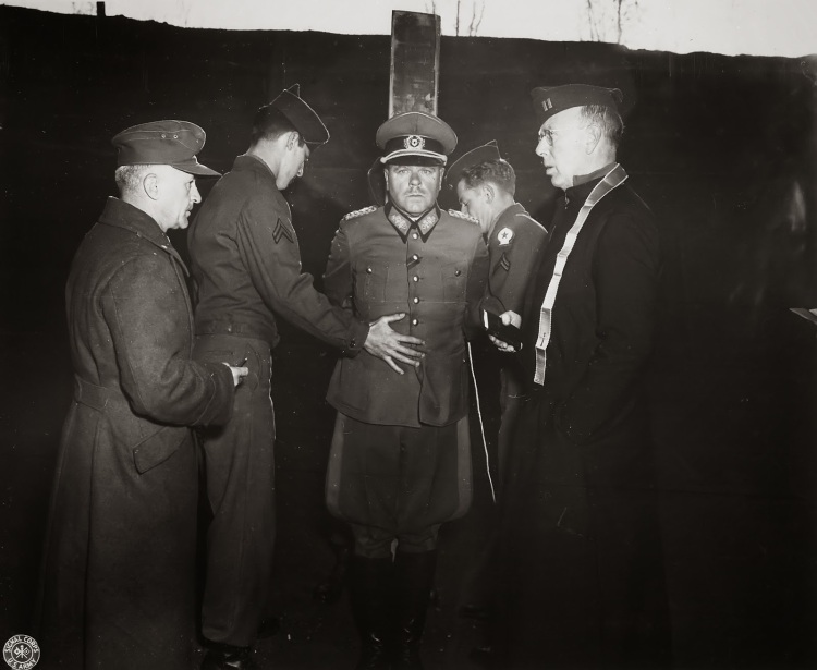german-general-anton-dostler-is-tied-to-a-stake-before-his-execution-by-a-firing-squad-italy-1945-color