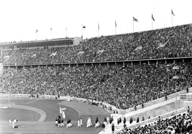 Berlin, Eröffnung der XI. Olympischen Spiele