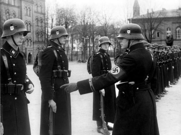 Berlin, Kaserne der LSSAH, Vergatterung