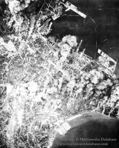 Incendiary Raid on Yokohama