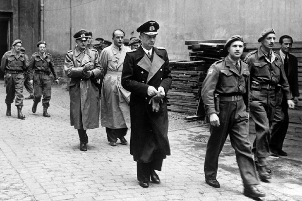 Alfred Jodl, Albert Speer And Karl Dönitz Submit To Capture By The British