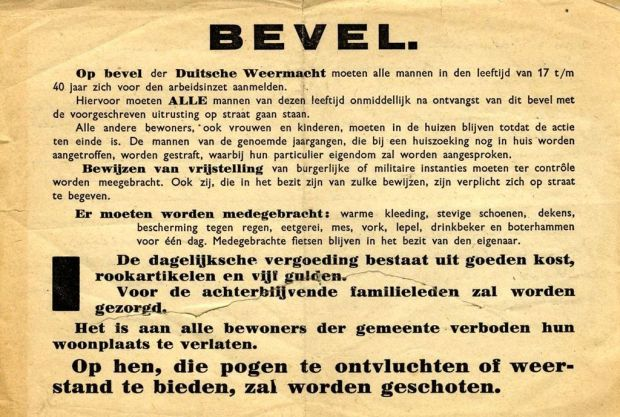 Bevel_arbeidsinzet_1944_Rotterdam