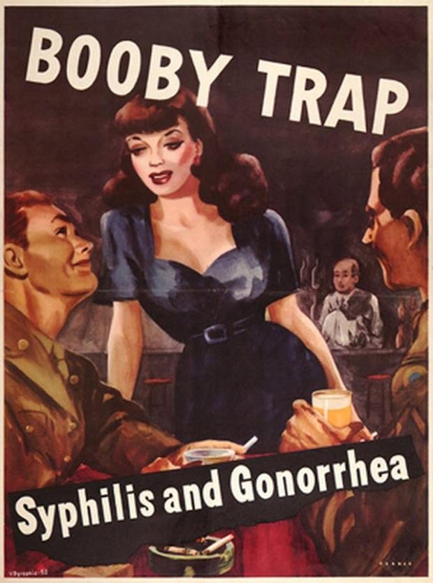 Vintage STD Propaganda Poster (6)